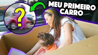 PRIMEIRO CARRO DA ALICIA !!!