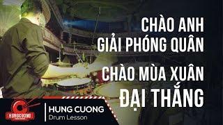 Chào anh giải phóng quân - Phạm Thu Hà (Drum cam Hùng Cường) Drummer in Vietnam