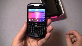 BlackBerry Curve 9360 Unboxing