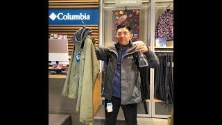 컬럼비아 재킷으로 1타3피!