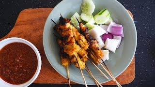 How To Make Grilled Chicken Satay