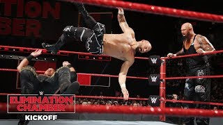 Luke Gallows demolishes Bo Dallas: WWE Elimination Chamber 2018 Kickoff Match