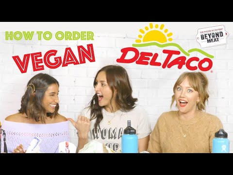 VEGAN AT DEL TACO (beyond meat taco)