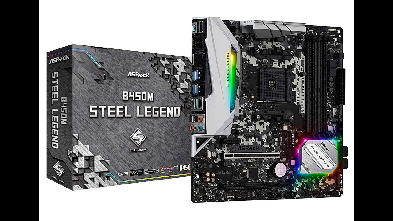 ✅ASRock B450M Steel Legend - Motherboard Review