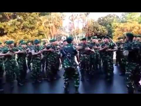 Keren Banget, Pantas Saja Netizen Malaysia Puji Tentara Indonesia Lihat Videonya