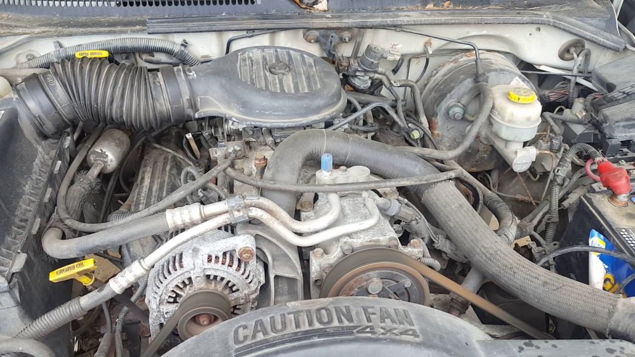 Al1619 - 1999 Dodge Durango - 5 9l Engine