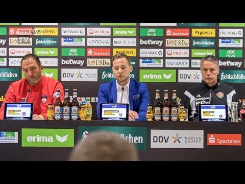 27. Spieltag | SGD - FCH | Pressekonferenz nach dem Spiel