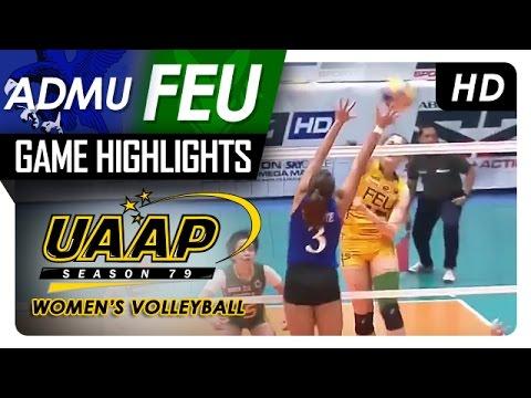 ADMU vs. FEU | Game Highlights | UAAP 79 WV | March 18, 2017