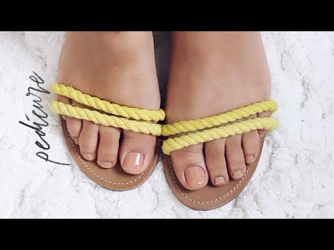 DIY PEDICURE AT HOME STEP BY STEP| FOR ROUGH DRY FEET!!!