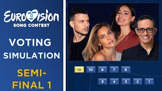 Eurovision Song Contest 2019 | Voting Simulation Semi-Final 1 (Part 1/3)