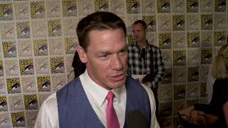 John Cena interview at San Diego Comic-Con - BUMBLEBEE