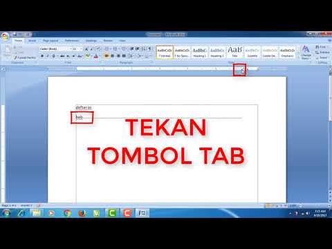 Cara Membuat Nomor Halaman Skripsi Berbeda dalam 1 Dokumen Word.