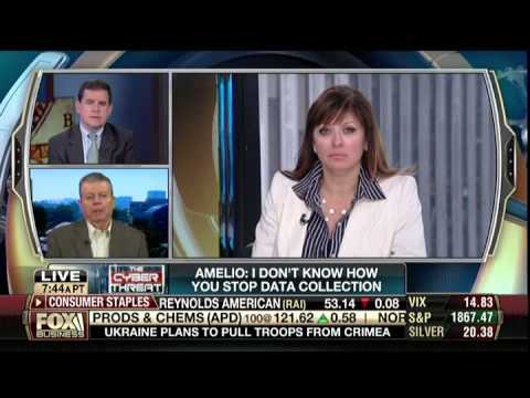 Gil Amelio of 5Barz on Fox Business   Bell with Maria Bartiromo
