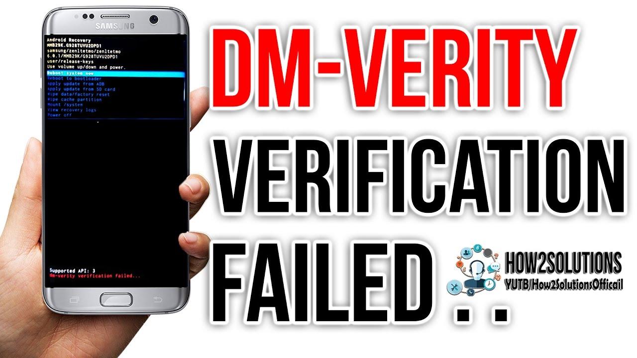 Fix Dm verity verification failed DRK Galaxy S7 Edge G930 G935 Samsung S6,  edge Review