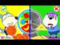 Wolfoo Learns Shape at Home with Magic Wheel | Wolfoo Family Kids Cartoon