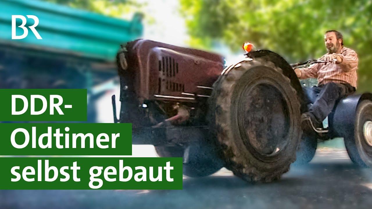 Benzinkuh: DDR-Landmaschine Marke Eigenbau | Unser Land | BR Fernsehen