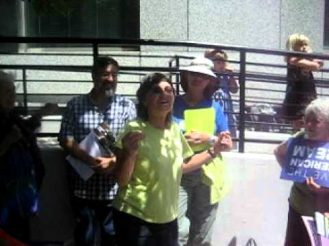Tax the Rich Protest Song Oakland CA 8:10:11.AVI