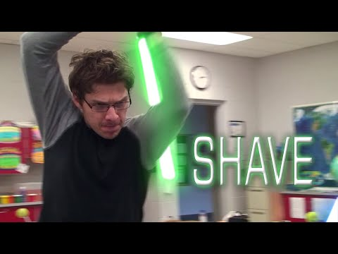 Shave - A Star Wars Lightsaber Battle (2017 edition)