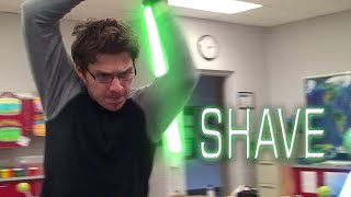 Shave A Star Wars Lightsaber Duel