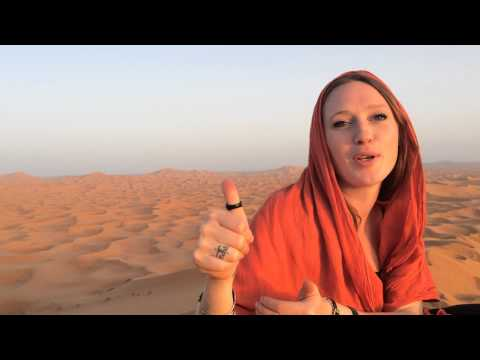 Is Morocco safe? Random interview by Hassan & Scottish traveller- From Erg Chebbi dunes.