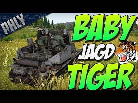 LOW TIER FUN TIER - BABY JAGDTIGER (War Thunder Tank Gameplay)