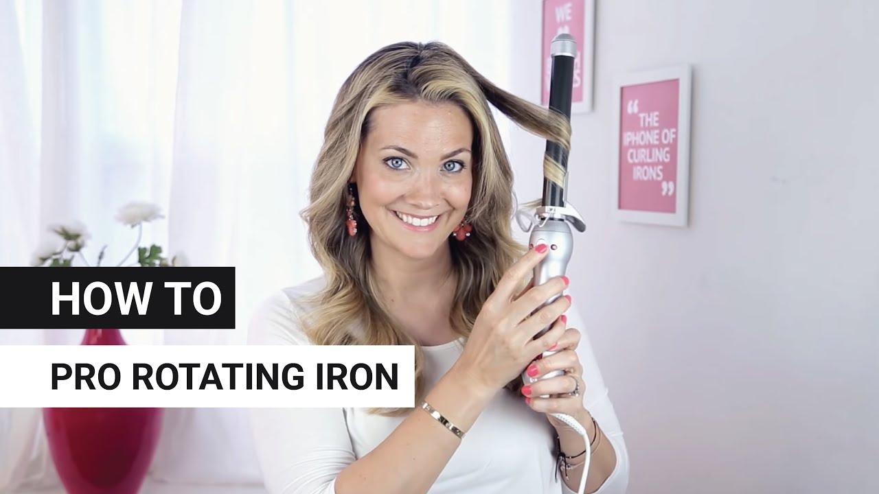 BEACHWAVER PRO Rotating Curling Iron YouTube