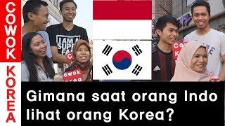 Gimana saat Orang Indonesia lihat Orang Korea? l Orang Indonesia di Korea l COWOK KOREA