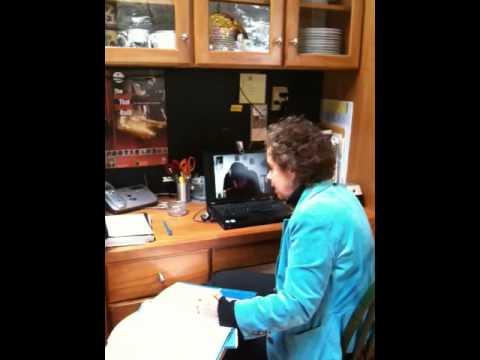Bar mitzvah tutoring via Skype
