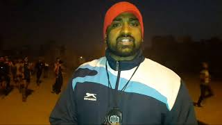 How to running in winter tranning in charlie academy_indian army