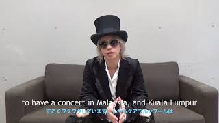 HYDE Message for Malaysia & SEA - HYDE Live in KL 2018