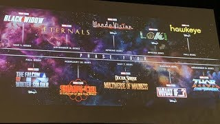 MCU PHASE 4  All Details Officially Revealed By Marvel In San Diego Comic Con | Explained In Hindi