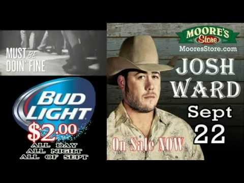 Josh Ward @ Moore's Store 9 22 16