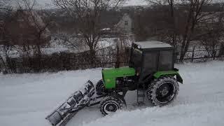 МТЗ 82.1 і трішки снігу