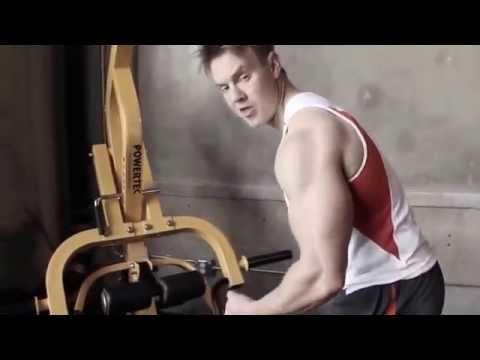 Bodybuilding Shoulders Exercises & Rear Deltoid Workout on Powertec