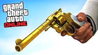 GTA Online - Secret Revolver Treasure Hunt & Challenge [Red Dead Redemption 2]