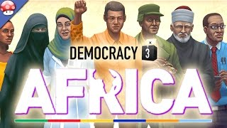 Democracy 3: Africa Gameplay (PC HD)