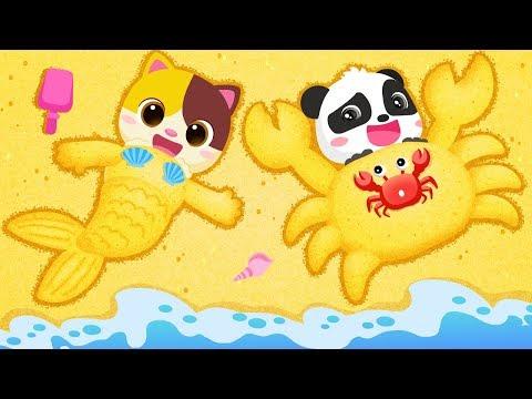 juguemos-en-la-arena- -canciones-infantiles- -seguridad-para-niños- -babybus-español