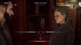 Vampyr Jonathan Reids meets his mother after Mary's death Gameplay Walkthrough