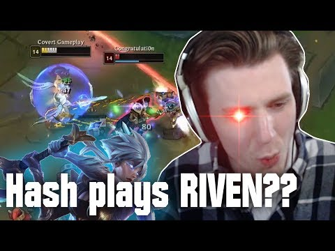 HASHINSHIN PLAYS RIVEN??! - Streamhighlights