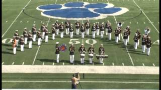 Parris Island Marine Band - The Thunderer w/ Drum Solo