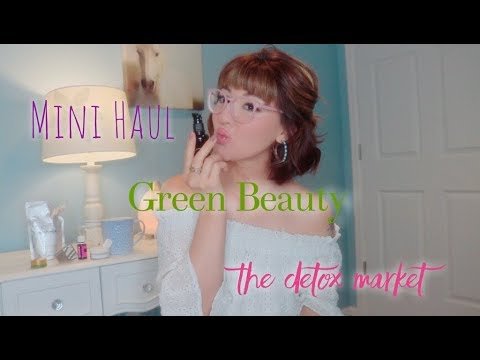 EARTH DAY GOODIES from The Detox Market/ Organic Makeup/ Skin Care