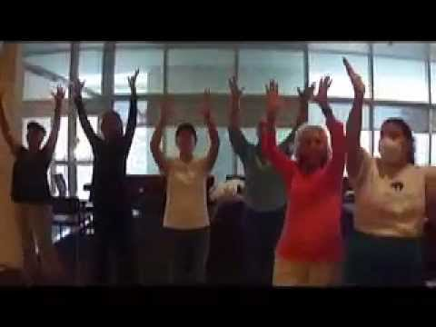 Chemo Karaoke Flash Mob in New Mexico
