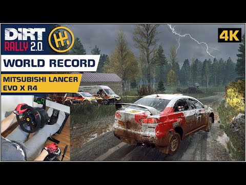 [World Record] Mitsubishi Lancer EVO X | Dirt Rally 2.0 [4K] |