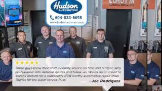 Hudson automotive oil change Near Me Reviews Langley BC