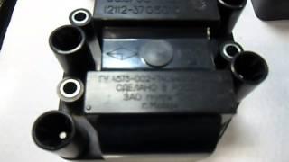 Испытание модулей зажигания ваз 2112   1 - серия