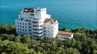 Курортный отель c лечебным комплексом Сосновая роща Гаспра Крым обзор отеля территория пляж