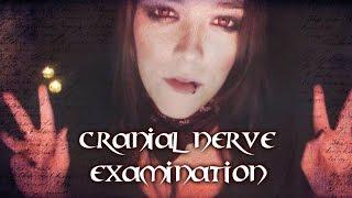 ***ASMR*** Toreador Vampire Cranial Nerve Examination - Selene's check-up