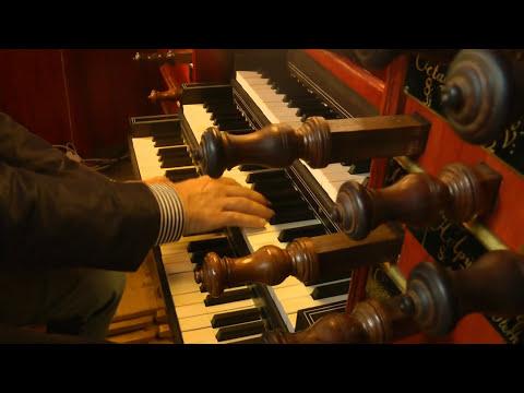 Willem van Twillert plays, Bach, Sicilienne BWV 1031 Garrels- organ Purmerend