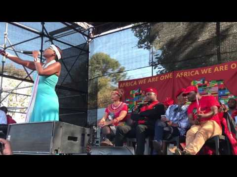 Ntsiki Mazwai EFF Africa Day celebration