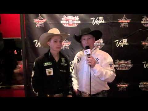 Gage Gay And Jason Hetland Chat At The 2015 PBR World Finals Media Day
